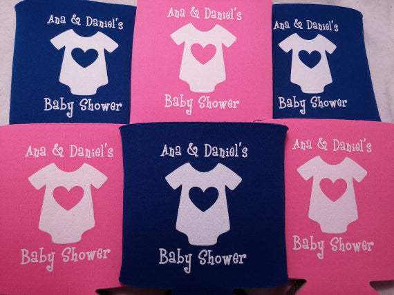 baby shower onesie party favors