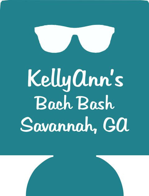 Savannah Georgia Bachelorette Bash Koozie custom can coolers