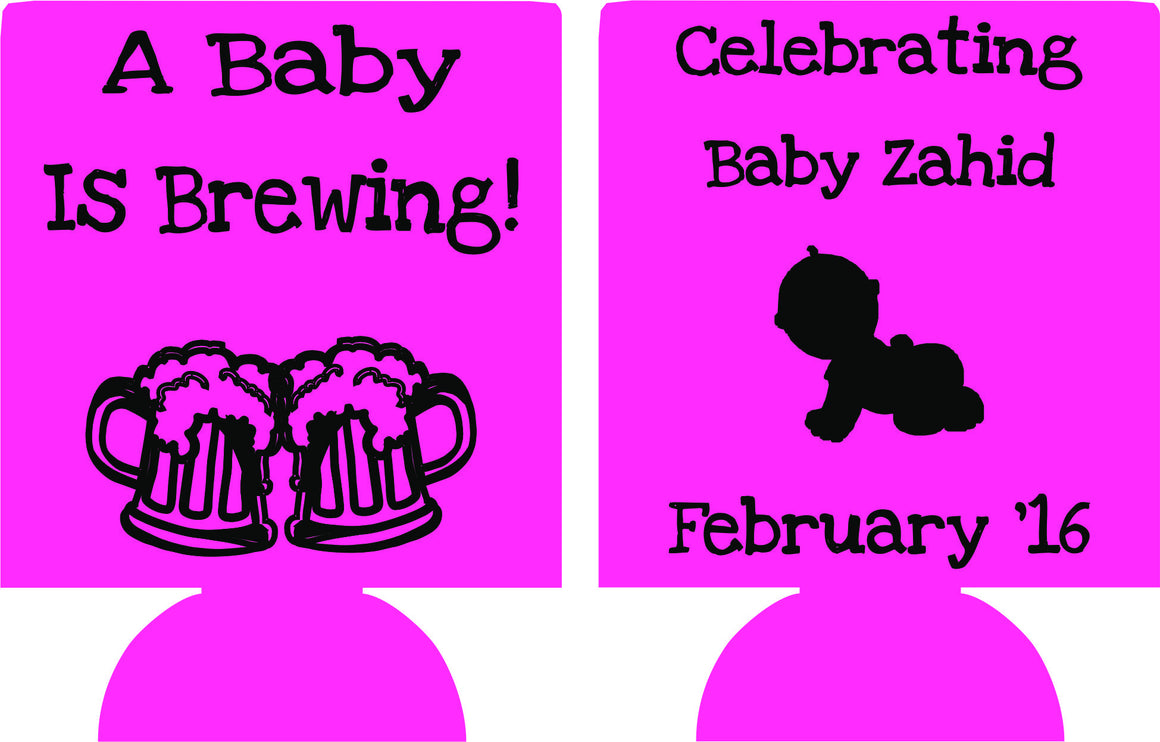 beers baby is brewing shower favors