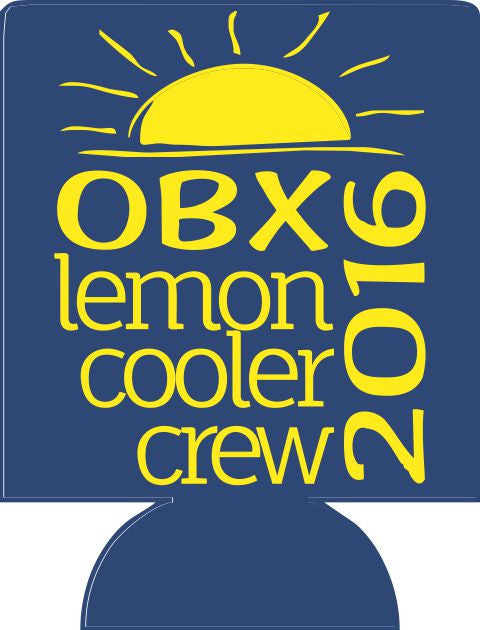 OBX Family reunion Koozie can coolers cooler crew