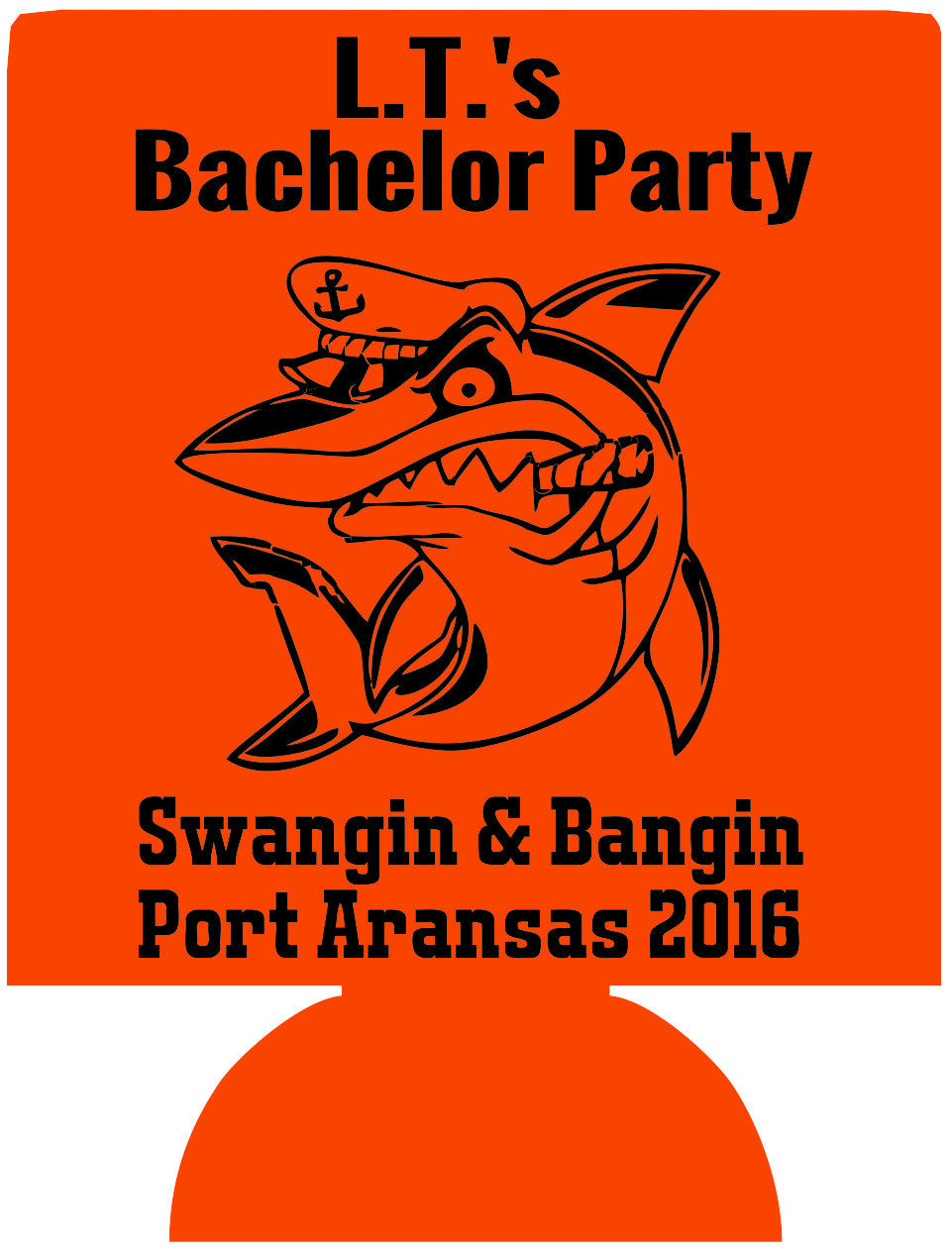 Port Aransas Texas Bachelor koozies