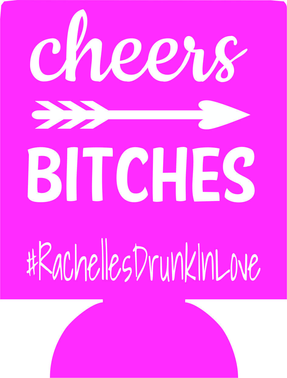 Drunk in Love Bachelorette Koozies