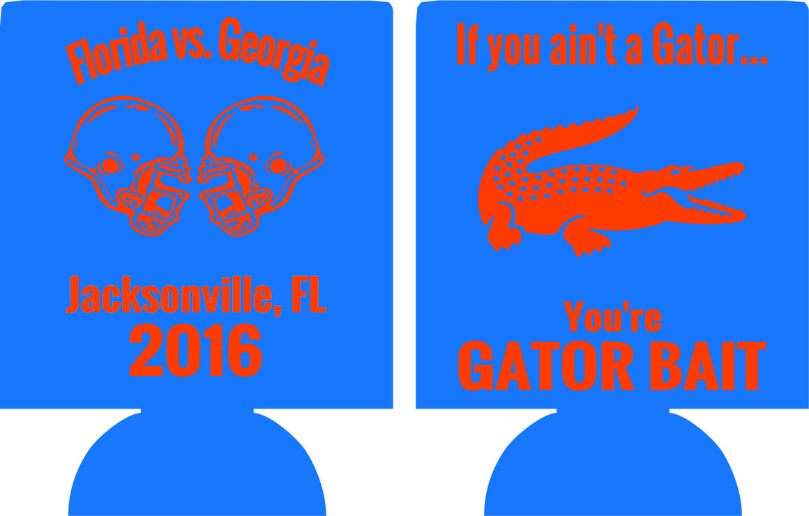 Florida Tailgate Koozie party favors can coolers 12915186