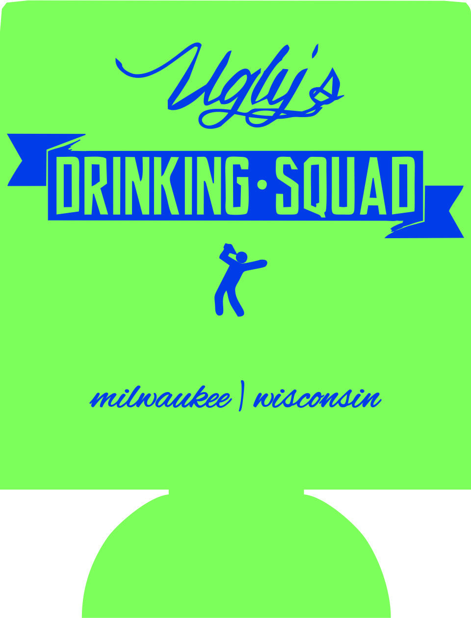 Bachelor Party drinking squad custom can coolers