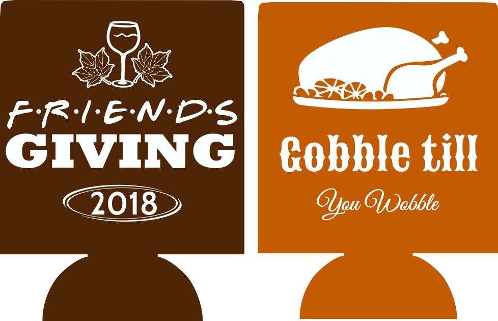 Friendsgiving Koozies