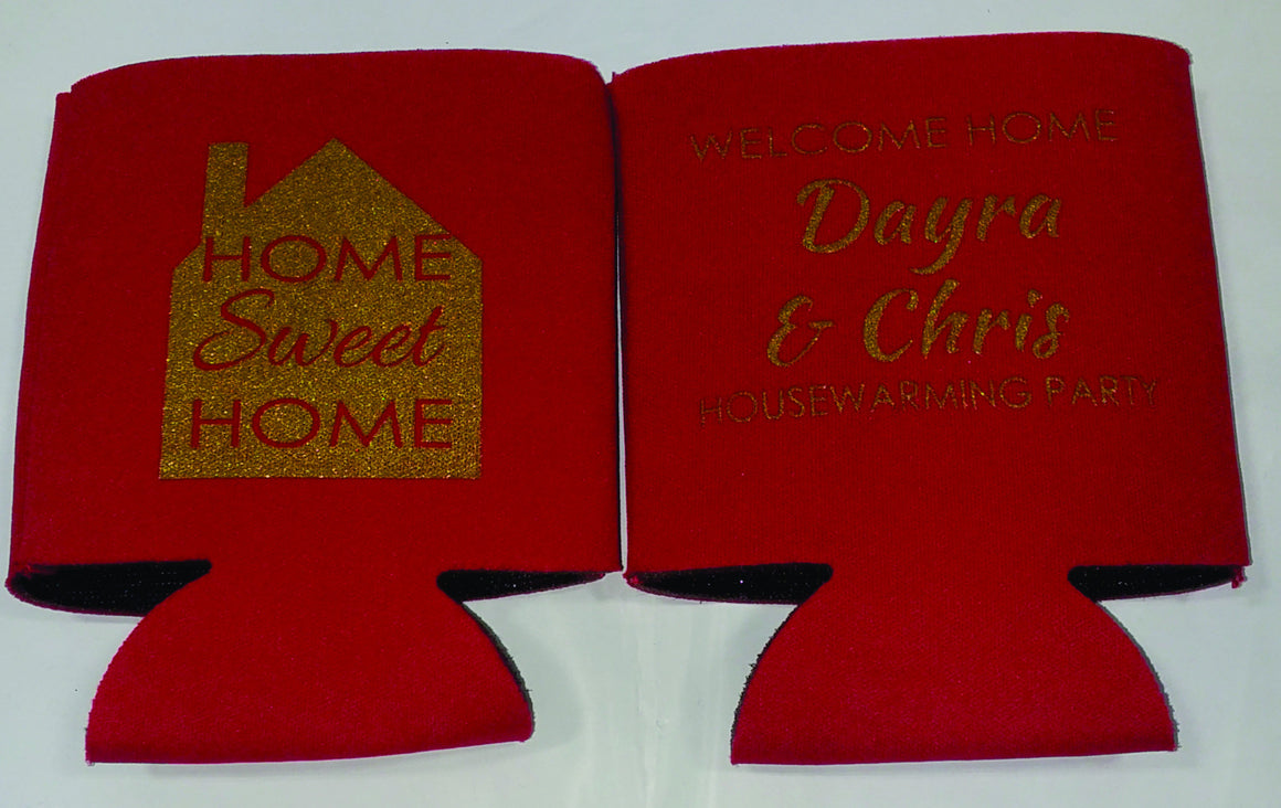 House warming custom favors Can Coolers SP1272