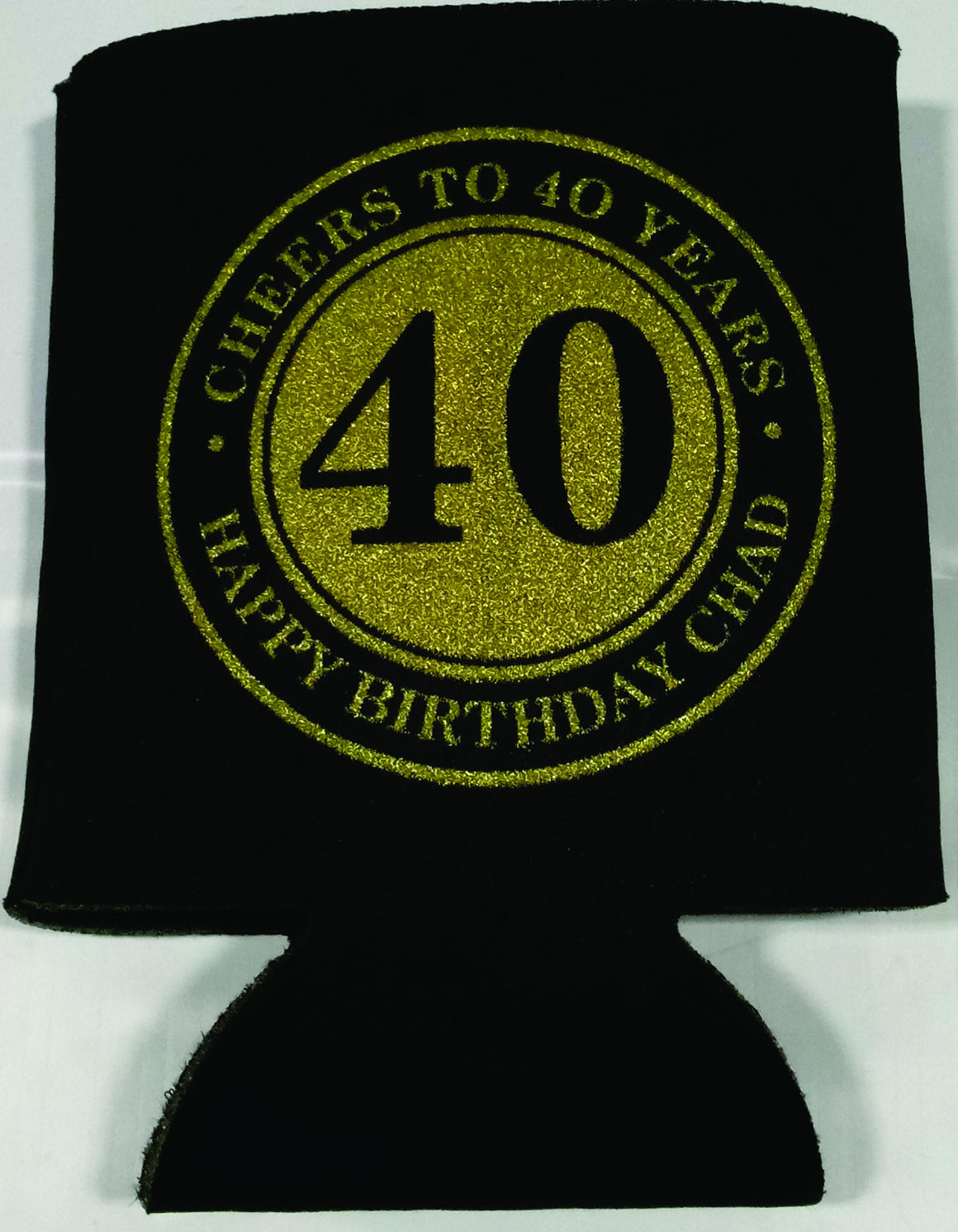 cheers to 40 years coozies