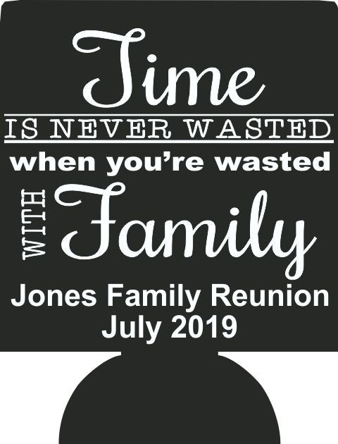 2019 Family reunion party favors can coolers