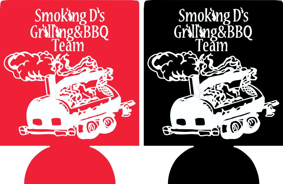 BBQ cookout koozie party favors can coolers e11062015