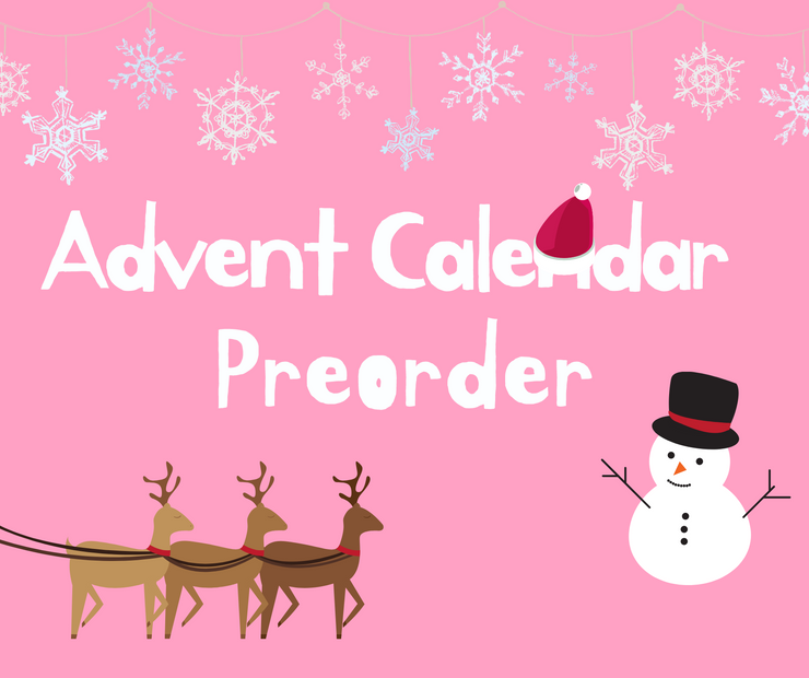 **CLOSED** christmas advent calendar PREORDER (includes shipping