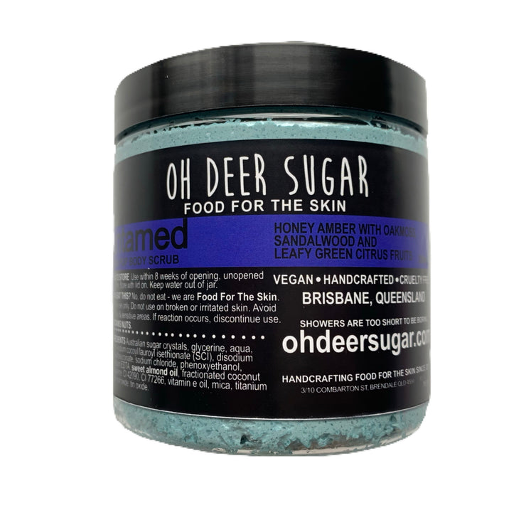Untamed (amber and oakmoss) SODA POP BODY SCRUB 250ML