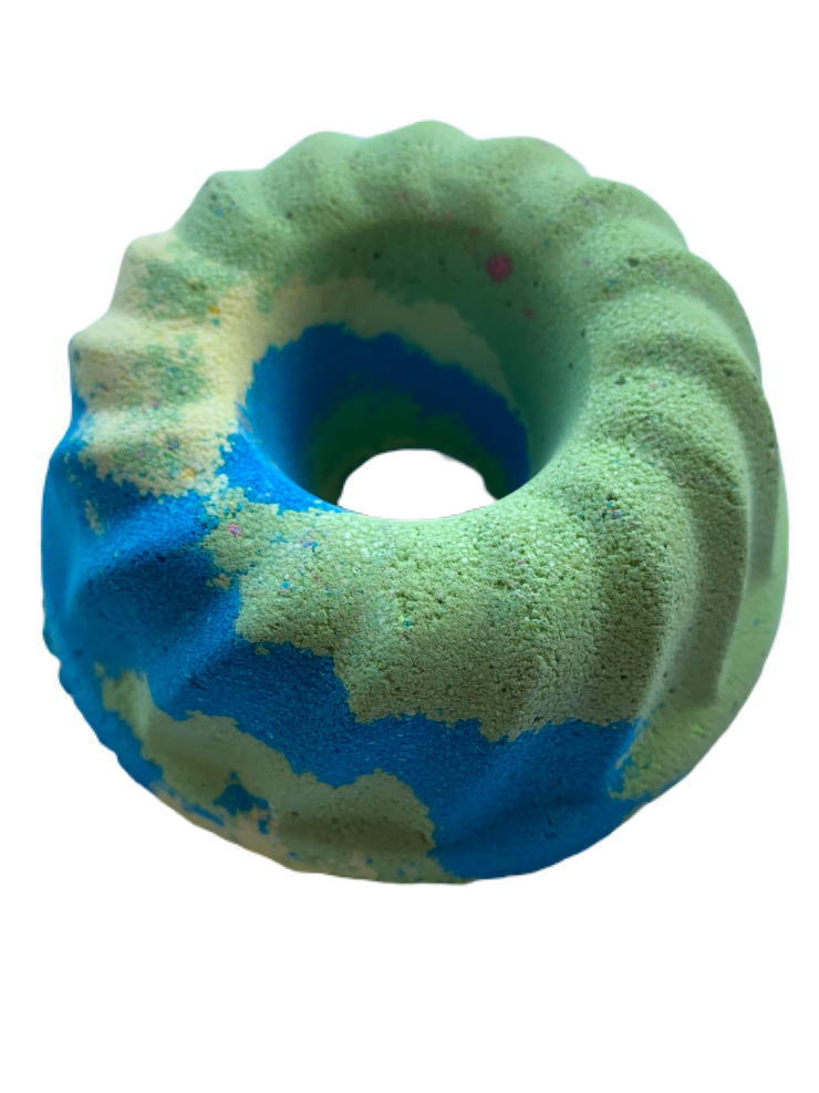 heirloom melon donut bath bomb 180g
