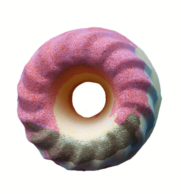 Lemon Lime & Bitters Donut Bath Bomb 180g