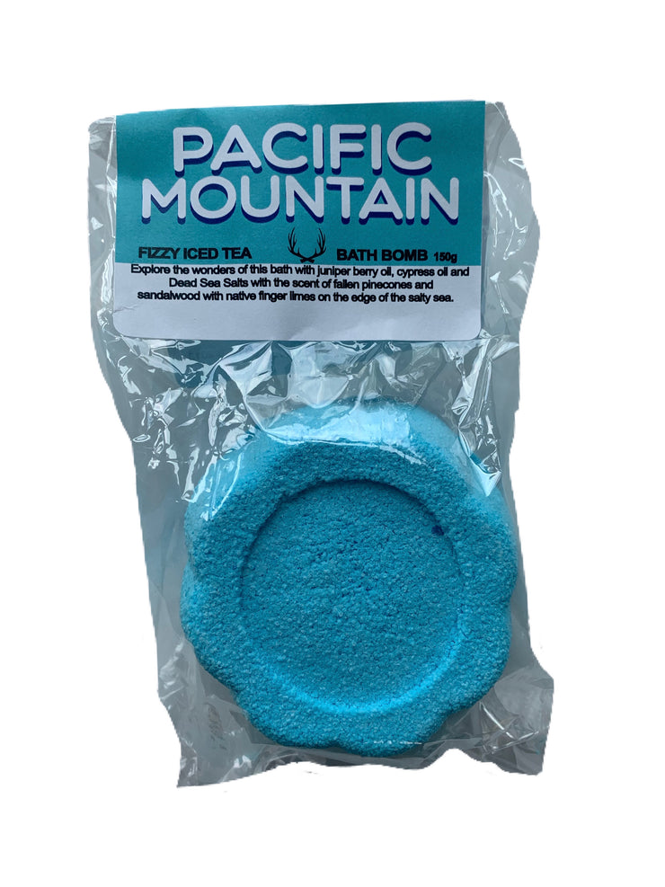 pacific mountain FIZZY ICED TEA BATH BOMB 150g