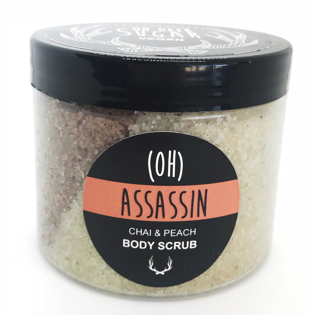 ASSASSIN Chai & Peach Body Scrub 250ML