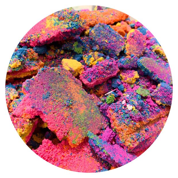 rainbow mixed BATH BOMB CRUMBLE BAG 1kg