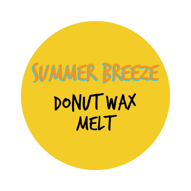 summer breeze DONUT WAX MELT 34g