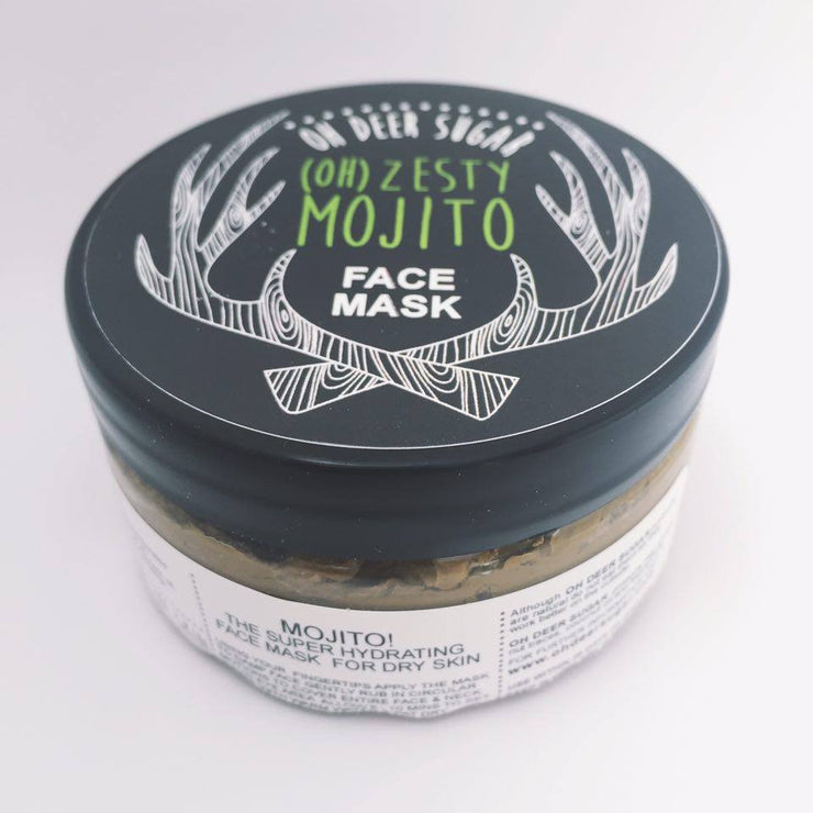 ZESTY MOJITO FACEMASK Lime & Mint 120g