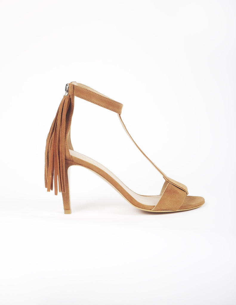 Azur fringe sandal - houseofspring.co.uk