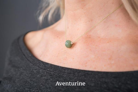 IamTra Necklace, Aventurine