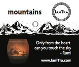 IamTra Candle: Mountains
