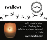 IamTra Candle: Swallows