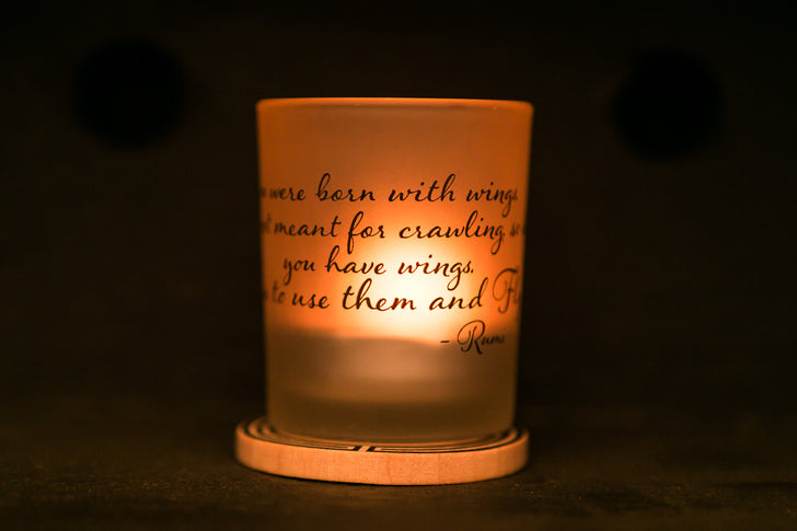 IamTra Tealight: Wings/Rumi