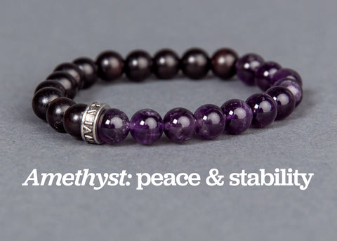 IamTra Stone Stack, Amethyst
