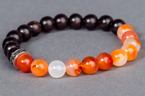 IamTra Stone Stack, Carnelian: creativity, individuality & courage