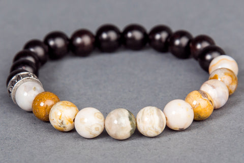 IamTra Stone Stack, Ocean Jasper: love self & others, heal emotions