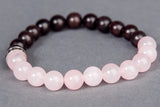 IamTra Stone Stack, Rose Quartz: unconditional love, opens heart, romantic, self-love