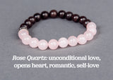IamTra Stone Stack, Rose Quartz