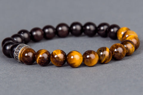 IamTra Stone Stack, Tigers Eye: protection, grounding & integrity