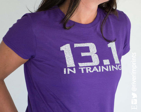 13.1 In Training Glittery Short Sleeve performance t-shirt