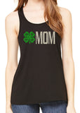 4H MOM glittery flowy tank top