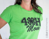 SALE - 4H MOM Glitter Womens Tee Shirt
