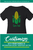 CORN FED Cotton Onesie or Tee