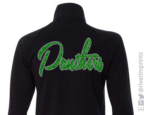 PANTHERS Glittery Cadet Jacket