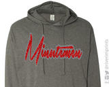 MINUTEMEN Glittery Hooded Sweatshirt or Tee
