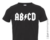 Toddler AB/CD ROCKER, toddler boys or girls t-shirt