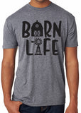 BARN LIFE Graphic Triblend T-shirt River Imprints