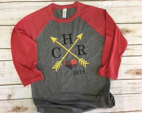 CHR 2018 Graphic Raglan