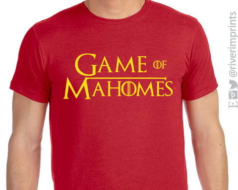 GAME OF MAHOMES Triblend Graphic Tee