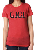 GIGI HEART NAMES Personalized Triblend Tee