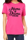 MAMA OF DRAMA #GIRLMOM Graphic Triblend T-shirt by River Imprints