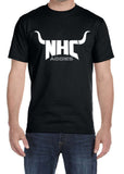 NHC AGGIES Horns Triblend Graphic T-shirt by River Imprints