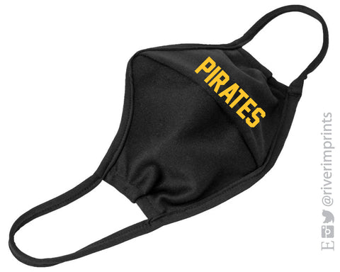 PIRATES 3-Ply Washable/Reusable Mask