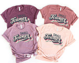 SMALL TOWNER Graphic Blend Tee Shirt