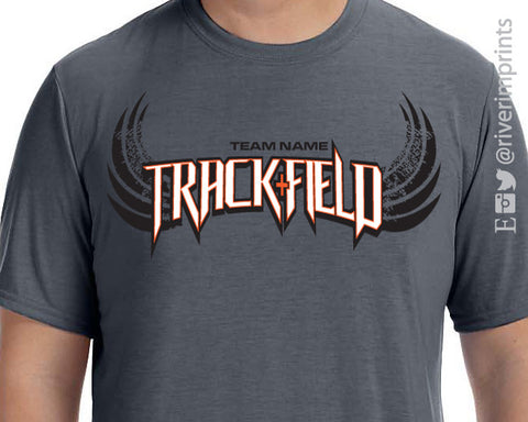 Track + Field Personalized Performance T-Shirt