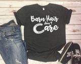 BARN HAIR DON'T CARE Graphic Triblend Tee